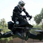Dubai polisine uçan motosikletli birim geliyor