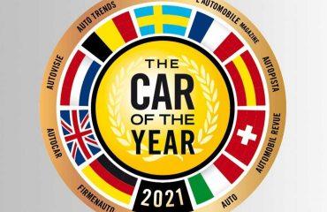 2021 Avrupa'da Yılın Otomobili Ödülü Logosu