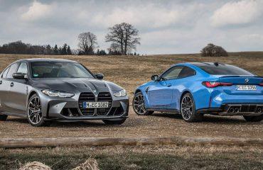 2022 BMW M3 ve M4'ün Competition xDrive versiyonları