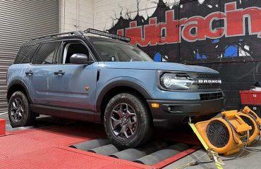 Ford Bronco Sport Dyno'da