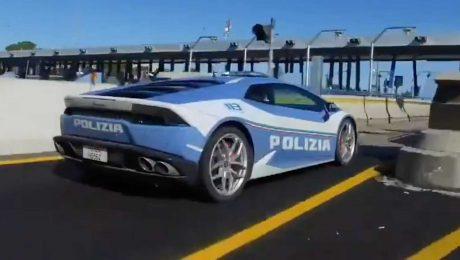 İtalyan polisi, Lamborghini polis aracı sayesinde bir hayat kurtarmış