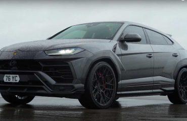 Lamborghini Urus ile BMW X6 M'in yarışını izleyin