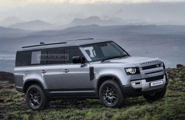 Land Rover Defender 130 muhtemelen böyle görünecek
