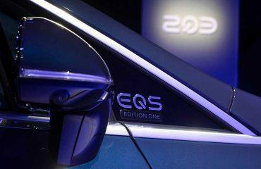 Mercedes EQS Dikiz Aynası