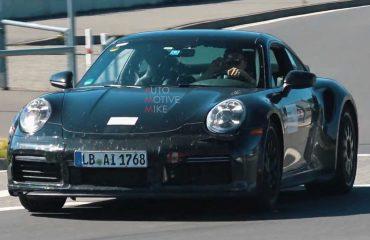 Porsche 911 Sport Classic, Nürburgring'de yakalandı