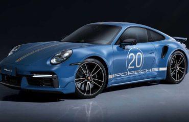 Porsche'nin 20. yıla özel ürettiği 911 Turbo S
