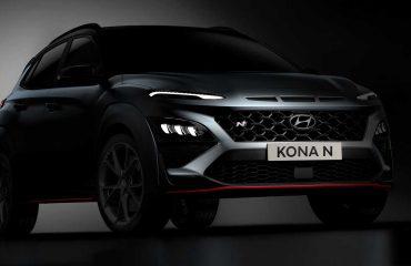 Hyundai Kona N resmi teaser fotoğrafı