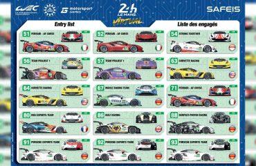 Sanal 24 Saat Le Mans araçlarının giydirmelerini görün