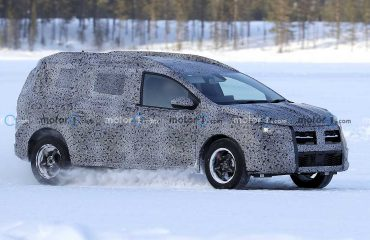 Dacia Logan Kamuflajlı Prototip Profil