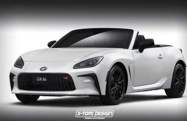 2021 Toyota GR 86 Cabriolet render.