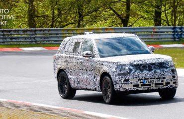2021 Land Rover Range Rover, Nürburgring'in tozunu atıyor