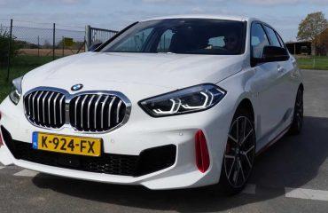 BMW 128ti otobanda maksimum hızına çıkıyor
