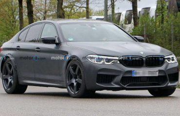İlginç BMW M5 Prototipi Ön Cephe