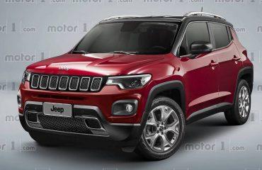 Jeep olası A segmenti SUV render çalışması.