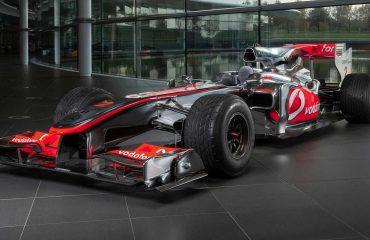 Lewis Hamilton'ın yarış aracı