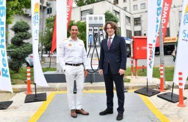 Shell ile Eşarj arasında hızlı şarj noktaları için önemli iş birliği