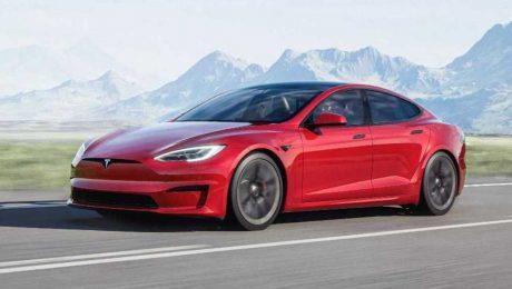 Tesla Model S Profil