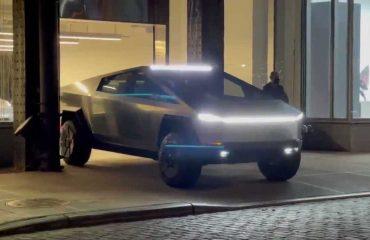 Tesla Cybertruck Ön