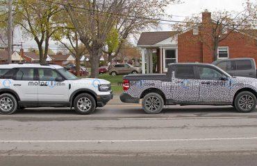 Ford Maverick ve Bronco Sport Yan Yana