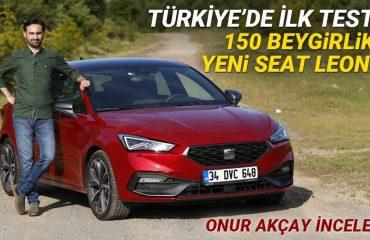 TÜRKİYE'DE İLK TEST: 150 beygirlik yeni Seat Leon incelemesi