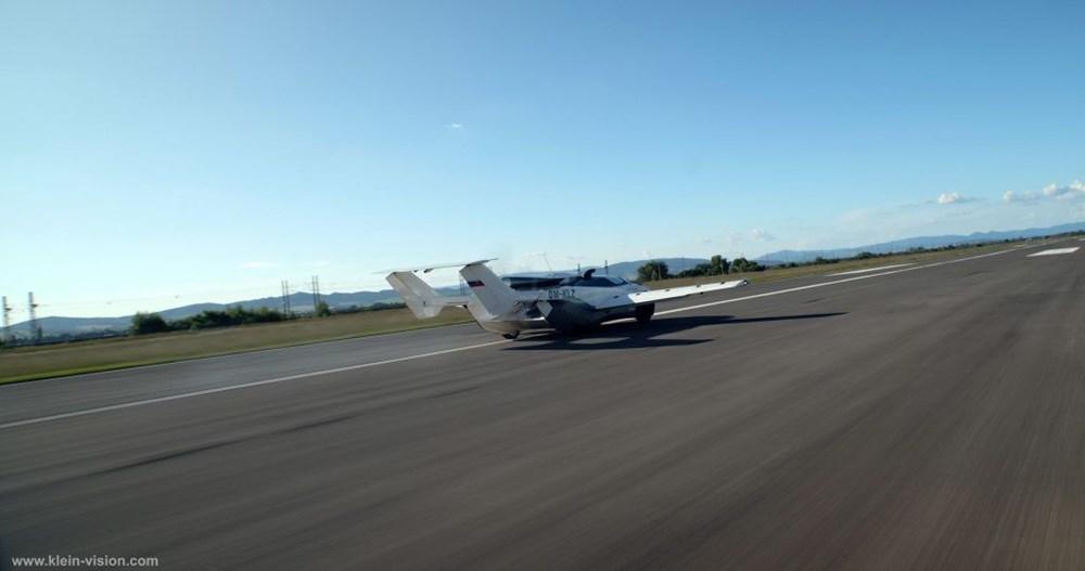 Uçan araba 35 dakikalık testi başarıyla tamamladı - 5