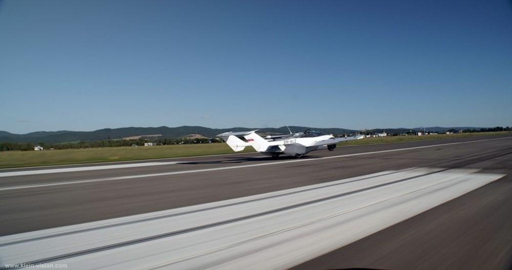 Uçan araba 35 dakikalık testi başarıyla tamamladı - 7