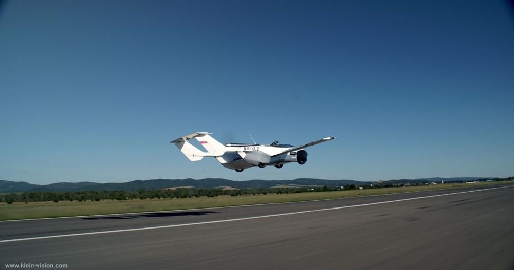 Uçan araba 35 dakikalık testi başarıyla tamamladı - 6
