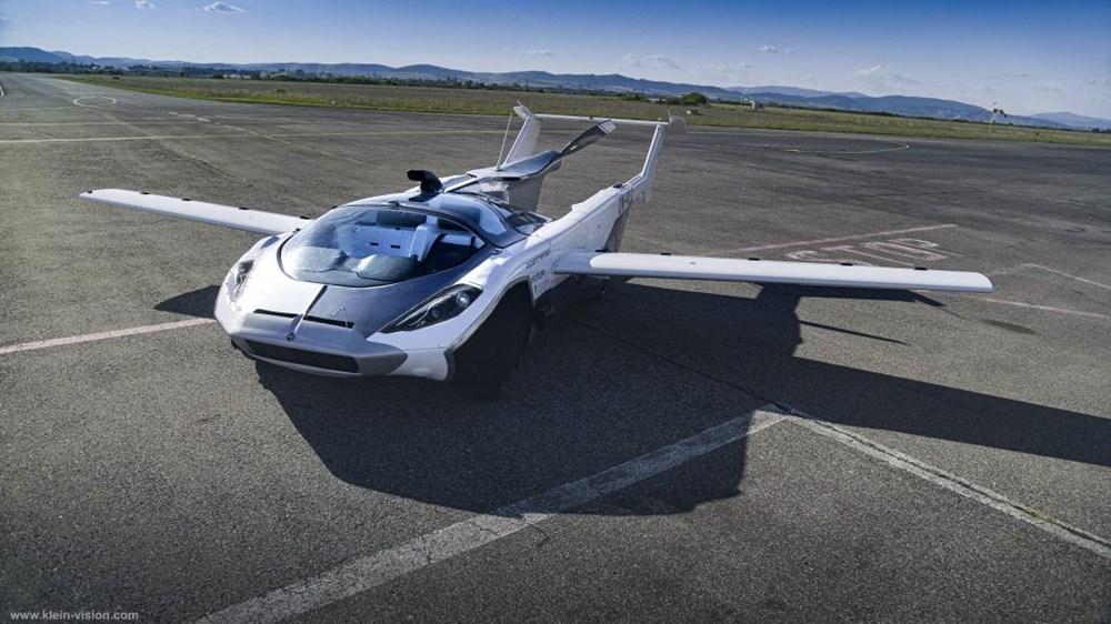 Uçan araba 35 dakikalık testi başarıyla tamamladı - 8