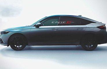 2021 Honda Civic Hatchback render