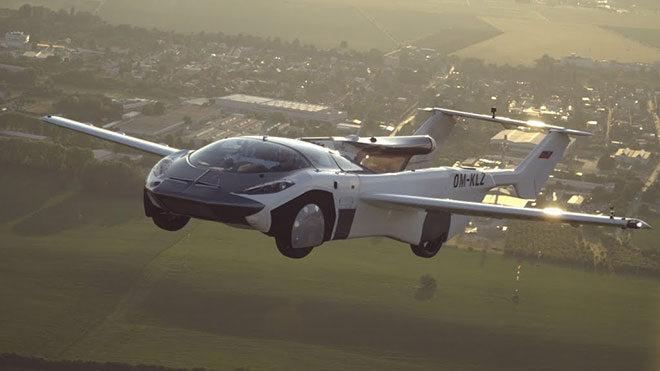 AirCar uçan otomobil