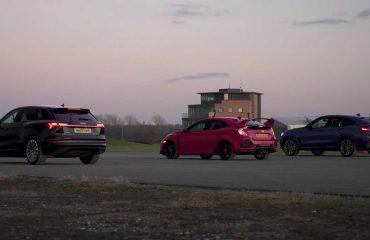 BMW X4 M40d, Honda Civic Type R ve Audi E-Tron yarışıyor