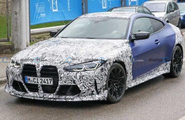 BMW M4 CSL casus fotoğraflar