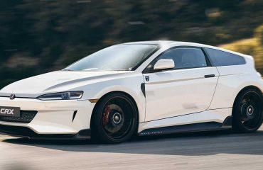 Honda CRX modelinin modern halefine dair bir tasarım yorumu.