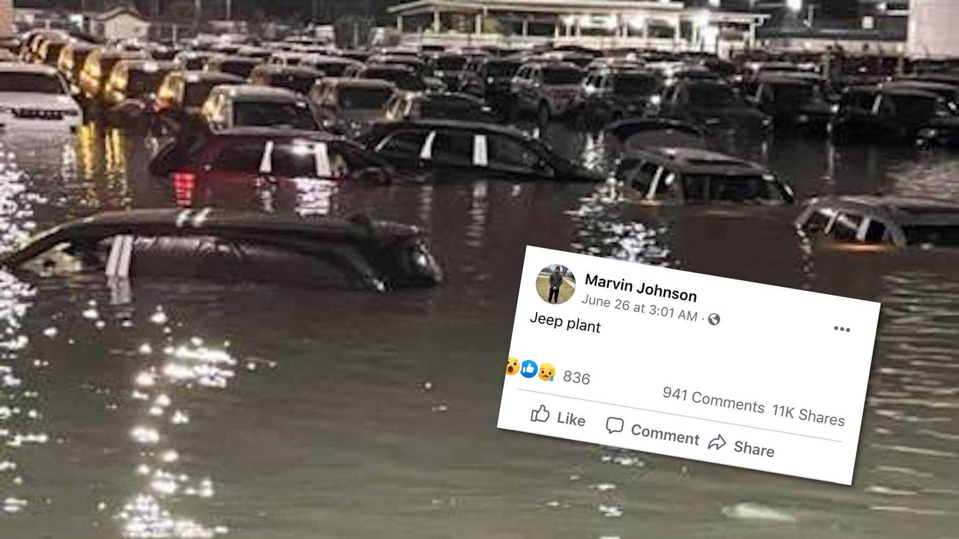 Jeep ve Ford'un üretimini bu kez de fırtınalar vurdu