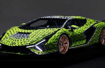 Lamborghini Sian Lego Replikası Ön Cephe