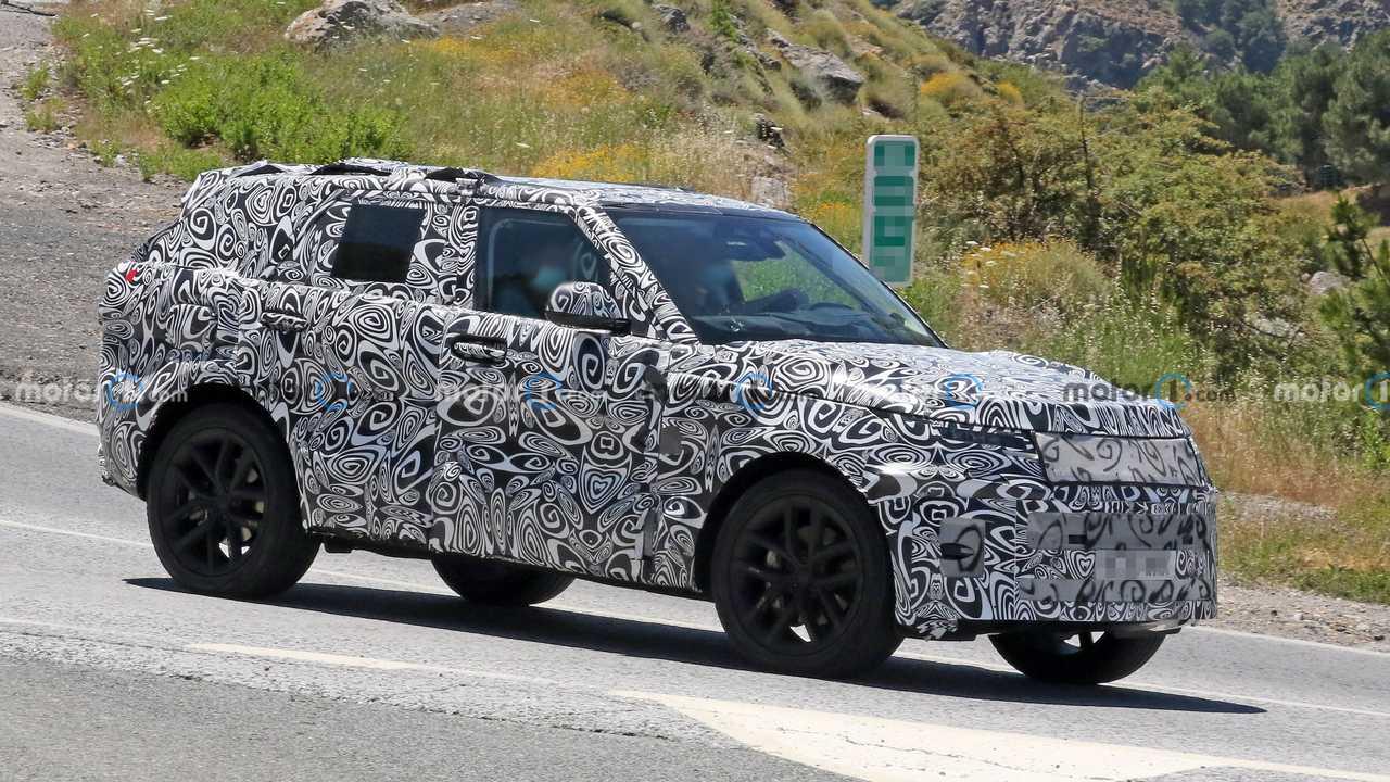 Land Rover Range Rover Sport Prototipi Ön Cephe