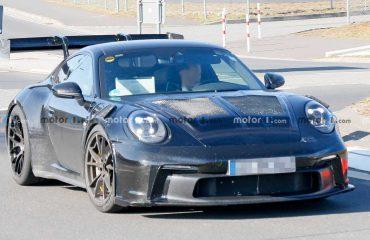 Yeni Porsche 911 GT3 RS, devasa kanadını Nürburgring'e taşıdı