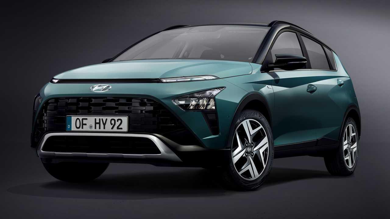 2021 Hyundai Bayon resmi fotoğraflar
