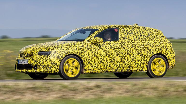 Yeni Opel Astra test maratonunun sonuna geldi
