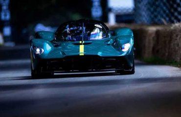 Aston Martin Goodwood Hız Festivali'nde.