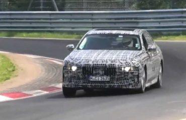 BMW 7 Serisi Hibrit ve i7 Nürburgring'de!