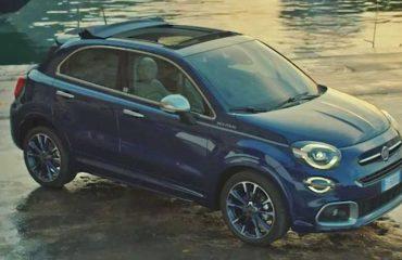 Fiat 500X Yachting İpucu (Teaser) Görüntüleri