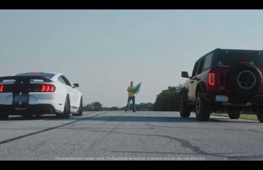 Ford Bronco, Mustang Shelby GT500 ile karşı karşıya