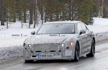 Jaguar XJ EV İptal edilen proje