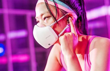 LG PuriCare Wearable Air Purifier. LG yüz maskesi