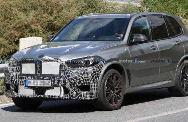 Makyajlı BMW X5 M prototipi ön cephe