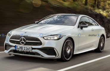 Mercedes CLE Serisi Coupe Render