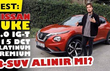 Nissan Juke Platinium 2021- B-SUV alınır mı?