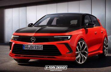 Opel Astra GSi Render