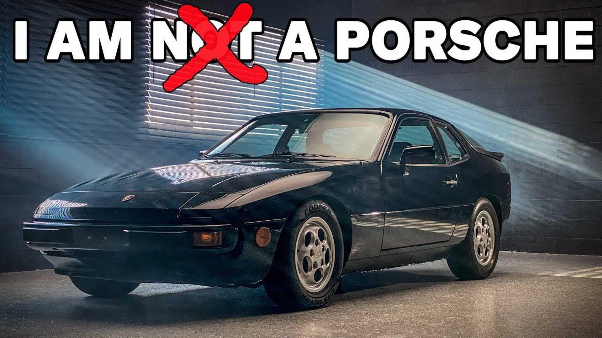 Orijinal Porsche 924 aslında bir Porsche değildi!